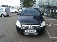 2010 VAUXHALL ZAFIRA 1.8 DESIGN 5d 139 BHP ** GUARANTEED FINANCE **PART EX WELCOME **