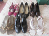 VARIOUS LADIES SHOES SIZE 6