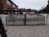 wrought iron gates / driveway gates / garden gates / metal gates / steel gates / double gates