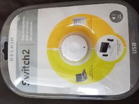 F1DF102UUK Belkin KVM , Switch2 For Pc USB , Belkin