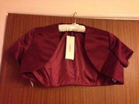 Bolero for Ball Gown / Bridesmaid Dress – Size 12
