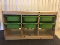 Storage Unit Trofast Ikea Wooden