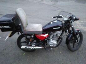 2014 125 'el mule' rat survival bike