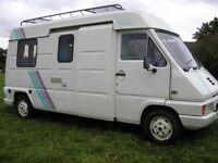 Renault Master Camper Van Hi Top lwb 2.4 Diesel low millage engine & gearbox recent cam belt kit