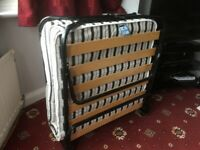 Folding Guest Bed in as new condition.