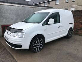 Vw caddy 2005 2.0gt tdi conversion