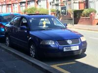 Vw Passat 1.9TDI 131Bhp 2002 Electric Hatch Electric Windows