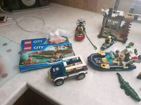 Lego city swamp edition