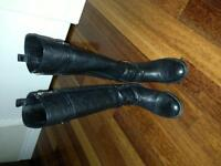BOTTES EN CUIR TORY BURCH TAILLE 5