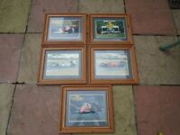 FORMULA ONE,,F1 RETRO-F1 FRAMED PICTURES