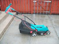 Bosch Rotak 340 ER Lawnmower LESS THAN A YEAR OLD