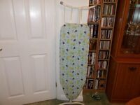 Ironing Board. Hardly used. Very good condition. Lightweight. Stores away easily.