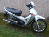 125cc honda innova moped scooter full mot