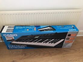 Electric keyboard with stand and stool