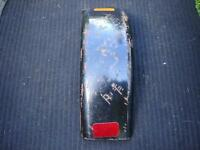 "1 - Black Steel Trailer Fender, Approximately 26 1/2"" x 7 1/2"""