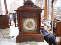 german antique bracket clock