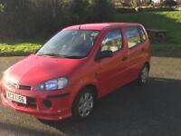 Daihatsu YRV 1.3 petrol with 12 months MOT
