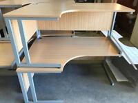 Office Corner Desks Right or Left Hand Return Available