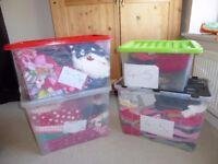MASSIVE job lot bundle of girls clothing Age 4-5! 217 items! Next, Sainsbury's TU, M&S and more!