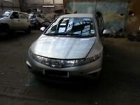 HONDA CIVIC 1.8 PETROL 5DR BREAKING 06-07-08-09-10 FOR SPARES 1X WHEEL NUT