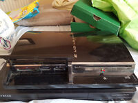 ps3 custom firmware 1000gb hdd space loads of game and navix for tv and movies