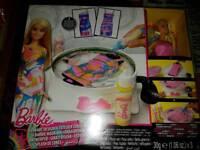 Barbie dress art spinner