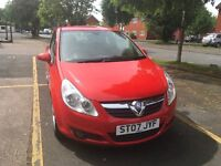 Vauxall corsa 1.4 red half leather one from new full service history