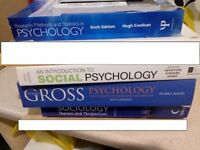 Psychology and Sociology University Text Books
