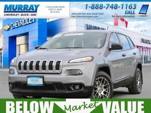 2015 Jeep Cherokee Sport 4x4  **upgraded rims! remote starter!**