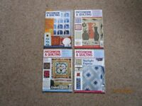 Patchwork & Quilting Magazines, 12 issues Jan to Dec 2011