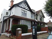 A one bedroom bedroom top floor flat in central Hove just off Old Shoreham Road.