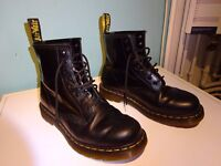 Doc Martens boots, good as new, black, size 7 (mens)