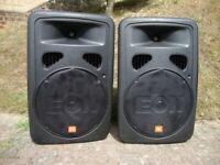 JBL Powered PA Speakers
