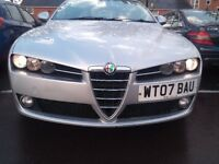 Alfa Romeo 159 1.9 Jtdm. fsh, clutch and cambelt done. upgraded alloys