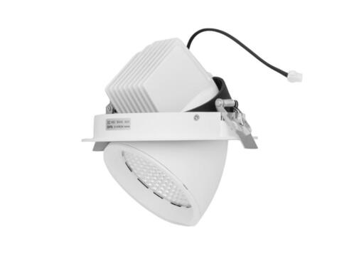 30 watt led inbouw banaan spot downlighter winkelverlichting