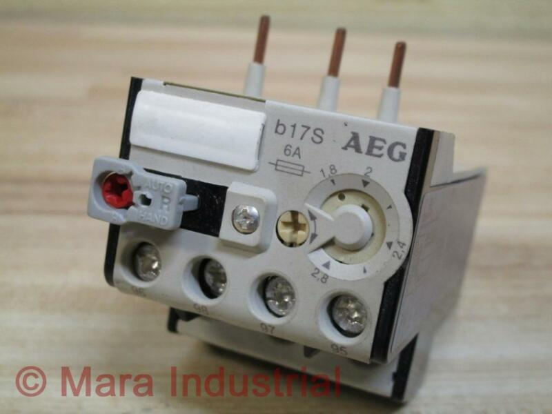 AEG 910-341-929-00 Thermal Overload Relay 91034192900