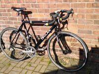 Dolan multi / city cross touring cyclocross road bike carbon-allu 57cm frame only £149 - gravel