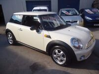 Mini One,1397 cc 3 door hatchback,rare auto in stunning white,FSH,runs and drives very well