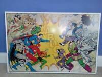 Large dc canvas