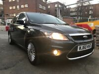 Ford Focus 2010 Titanium 1.6 Patrol 2 keys 2 owners key less entry vgc 5 Door's