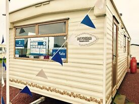 Stunning starter caravan for sale at sandy bay on northumberland coast with payment option low fees