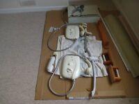 Two Miras Sports 8.5 Kilo Watt Elecric Showers