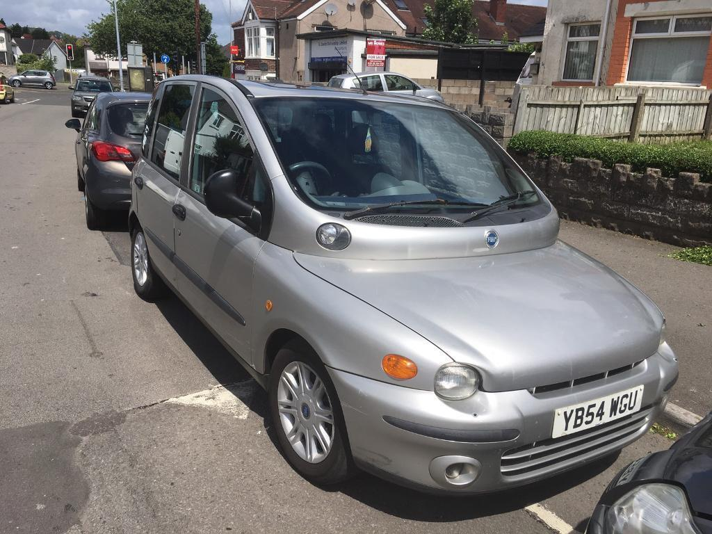 fiat multipla 1 9 diesel with towbar in blackwood caerphilly gumtree. Black Bedroom Furniture Sets. Home Design Ideas