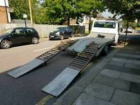 Ford Transit Recovery Bed - Ideal for Cars, 4x4 and Mini Diggers with RAMPS