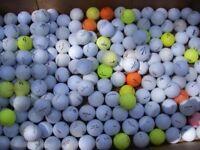 Between 150-200 golf balls