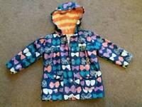 Hatley girls coat age 2