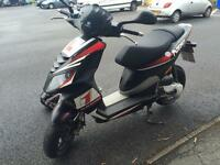 Piaggio NRG 59 Plate Red/Black