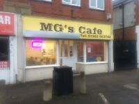 Mg's cafe for sale