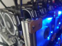 Professional High End Cryptocurrency Mining Rig 12 x 1080ti