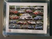 framed BTCC-50 Years 1&2